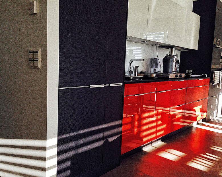 Küchen mit Materialkombinationen, Schreinerei Schenk intérieur in Gießen